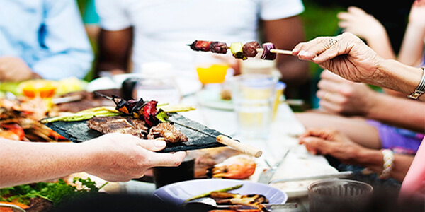 BBQ food catering India