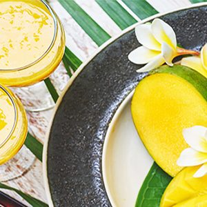 raw mango cooler drink