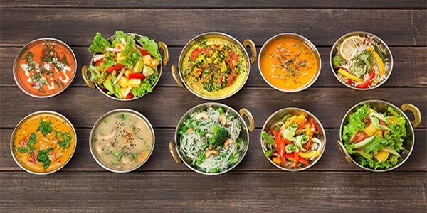 punjabi wedding food