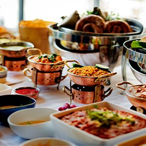 food gourmet buffet